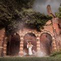 Fotoshoot ruwmantisch bunny glittergun shoot fotografie urbex portret fantasy ruine elf zwaard epic episch vervallen locatie