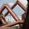 verlaten ruw rauw urbex vervallen www.ruwmantisch.nl ruwmantisch portret portretten portretfoto's fotografie fotosessie fotoshoot roest industrie buizen kolenmijn
