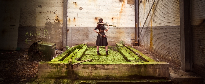 Verloop fotoshoot Dieselpunk | Behind the scenes