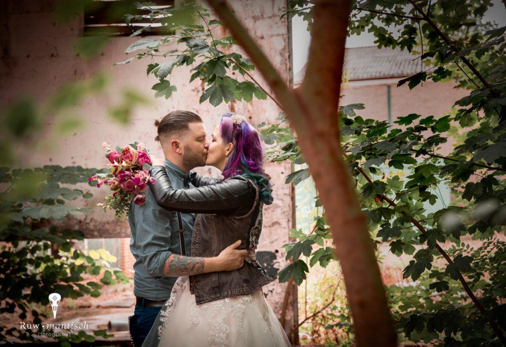 foto fotografen portretfotograaf vervallen ruw industrieel gezocht laten maken binnenlocatie aparte bijzondere bruidsfotografie trouwfotograaf Ruwmantisch Rawmantic Oosterhout Breda Tilburg