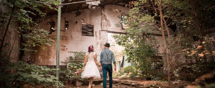 Industriële trouwfoto's: 5 Tips voor een stoere bruidsreportage