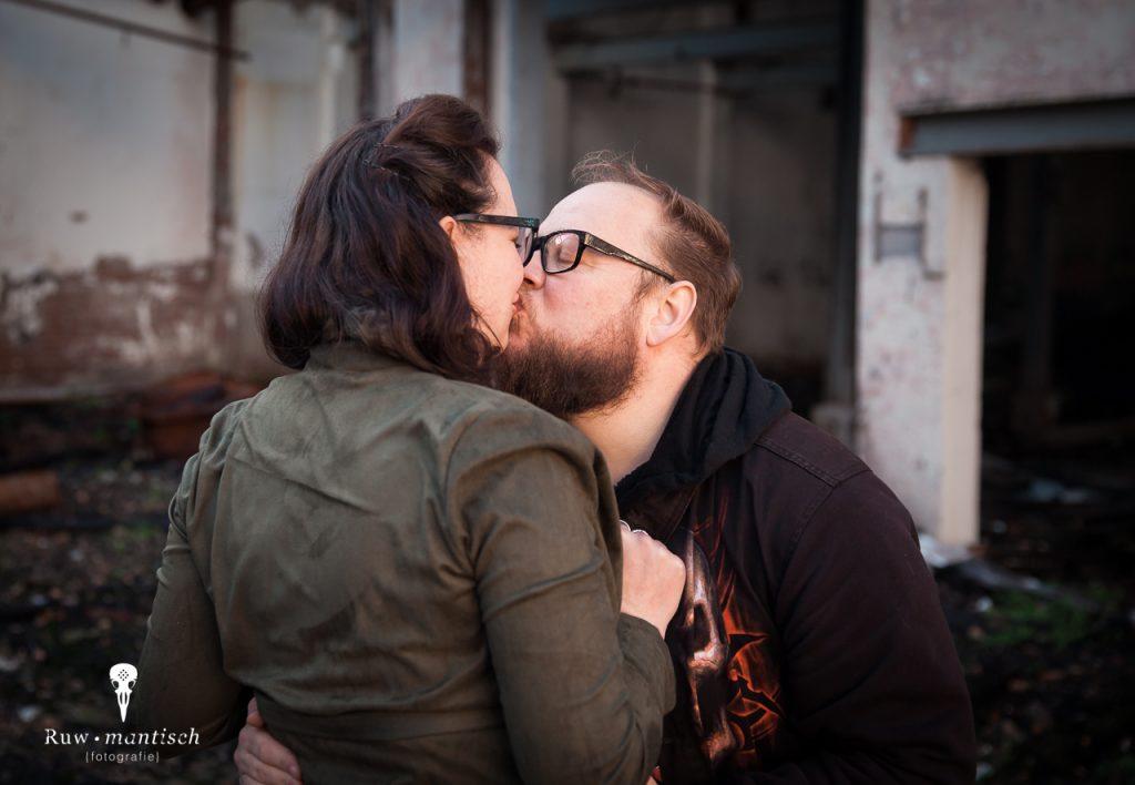 Ruwmantisch fotografie fotoshoot urban stoer industriële loveshoot fotolocatie loveshoot stelletje huwelijksaanzoek verloving breda den bosch eindhoven