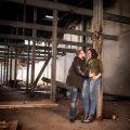 Ruwmantisch fotografie fotoshoot urban stoer industriële loveshoot fotolocatie zwangerschap stelletje bolle buik zwanger amsterdam Rotterdam den haag